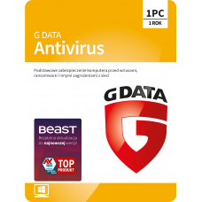 Antivirus software G Data Antivirus - 1 device / 1 year