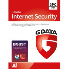 Antivirus software G Data Internet Security - 3 devices / 1 year