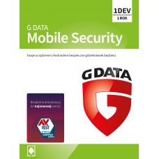 Antivirus software G Data Mobile Internet Security - 1 device / 1 year