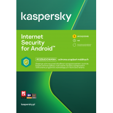 Antivirus software Kaspersky Internet Security for Android 1 device / 1 year