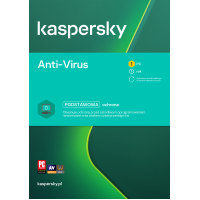 Antivirus software Kaspersky Anti-Virus 1 device / 1 year