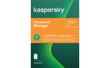 Kaspersky Cloud Password Manager 1 device / 2 years