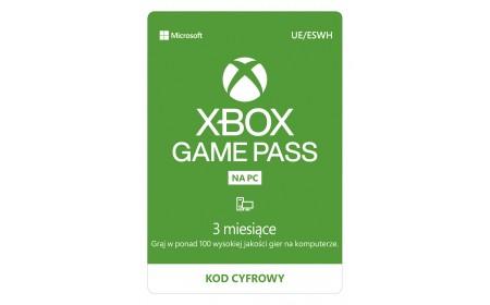 Microsoft Xbox Game Pass PC (3 months)