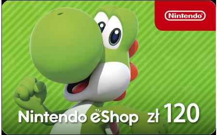 Nintendo eShop funds 120 PLN