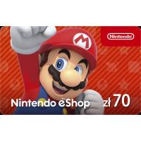 Nintendo eShop funds 70 PLN