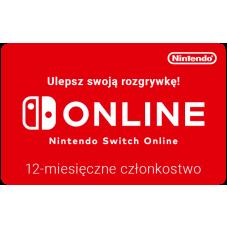 Nintendo Switch Online 12-month membership