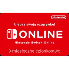 Nintendo Switch Online 3-month membership