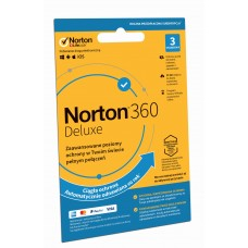 Antivirus software Norton 360 Deluxe - 3 devices / 12 months