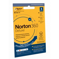 Antivirus software Norton 360 Deluxe - 5 devices / 12 months