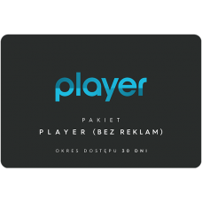 PLAYER (no ads) - 30 days