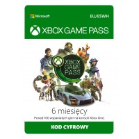 Microsoft Xbox Game Pass (6 months)