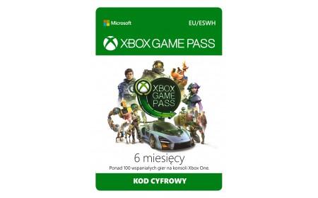 Microsoft Xbox Game Pass (6 months)
