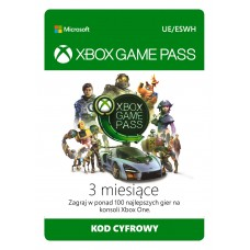 Microsoft Xbox Game Pass (3 months)
