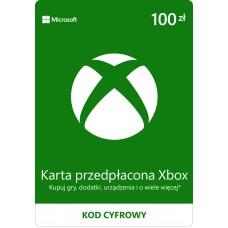 Microsoft Xbox Gift Card 100 PLN