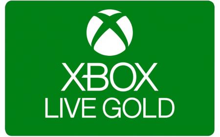 Microsoft Xbox Live Gold - 6 months