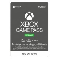 Microsoft Xbox Game Pass Ultimate (3 months)